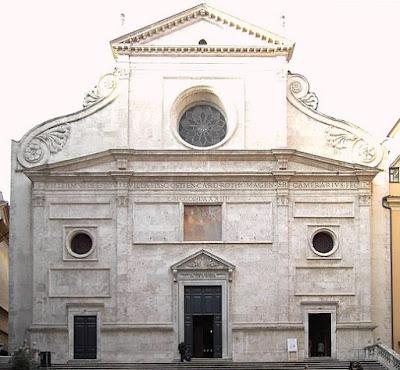"""""""Sant agostino"""". Con licenza Pubblico dominio tramite Wikimedia Commons - https://commons.wikimedia.org/wiki/File:Sant_agostino.JPG#/media/File:Sant_agostino.JPG"""
