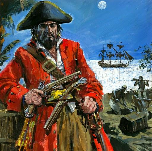 Những tên cướp biển khét tiếng nhất trong lịch sử nhân loại - ảnh 2.