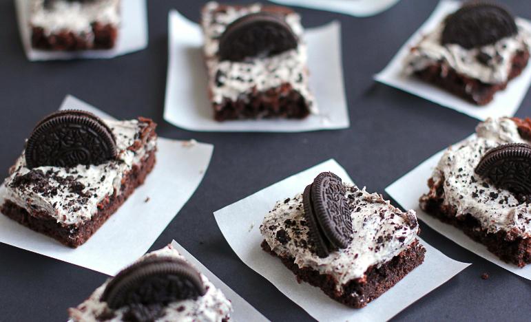oreo cake bars