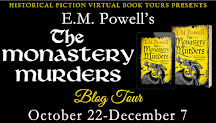 The Monastery Murders Blog Tour