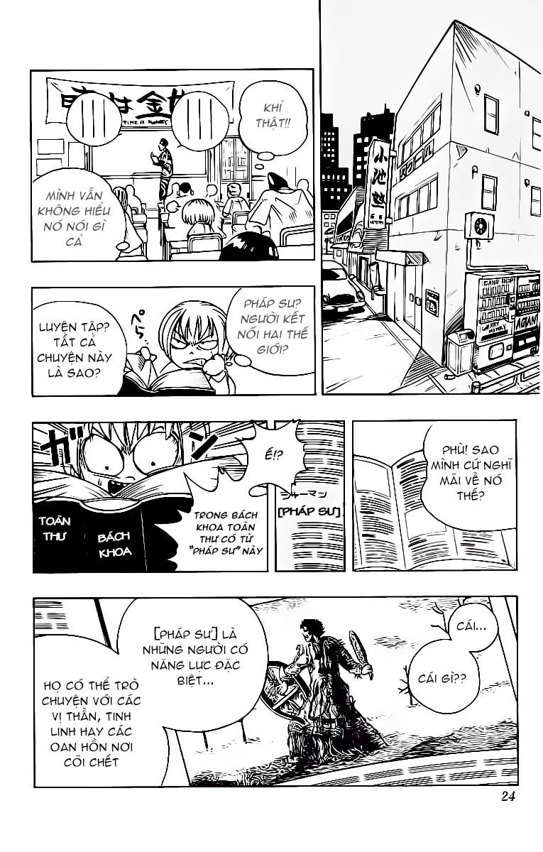 Shaman King [Vua pháp thuật] chap 1 trang 25