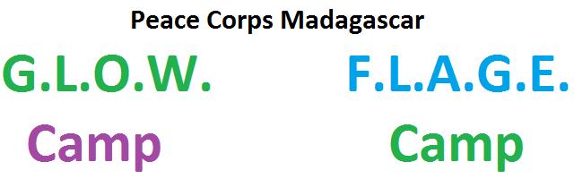 peace corps madagascar glow camp flage camp