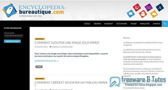 Le site du jour encyclopedia bureautique freewares tutos - Comment modifier un pdf avec open office ...