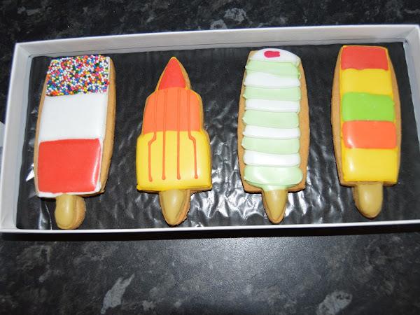 Biscuiteers Ice Lollies Big Biscuit Card Giveaway