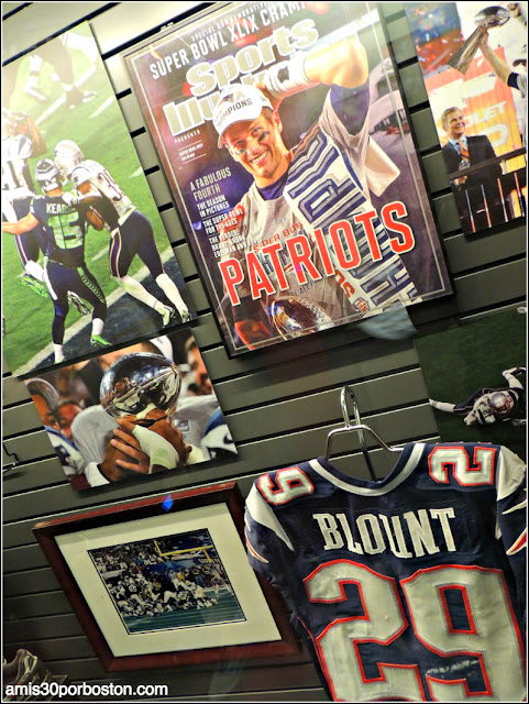 Patriots Museo TD Garden Boston