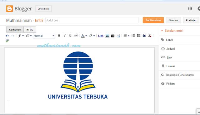Tutorial Memasang Banner Lomba Blog