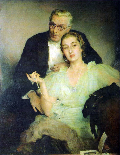 Boleslaw Jan Czedekowski,  International Art Gallery, Couples, Self Portrait, Art Gallery, Portraits of Painters, Fine arts, Self-Portraits, Painter  Boleslaw Jan Czedekowski