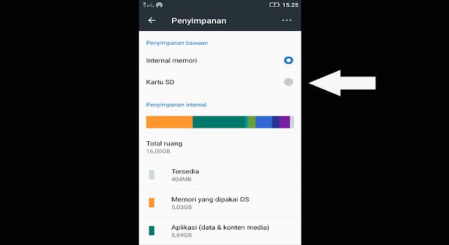 2 Cara Otomatis Menyimpan Hasil Download di SD Card Ponsel Android