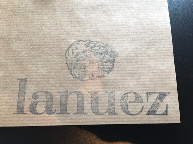 Detalle mantel individual menú del dia restaurante la nuez de Pamplona
