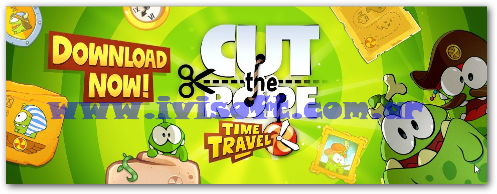 Portada cut the rope hd ivisoft.com.ar