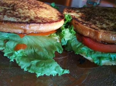 roti bakar sandwich - resep roti bakar
