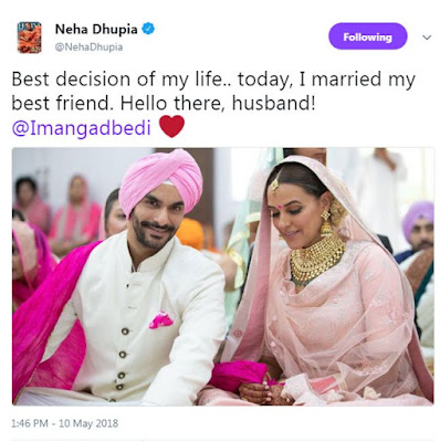 neha-dhupia-announce-marriage