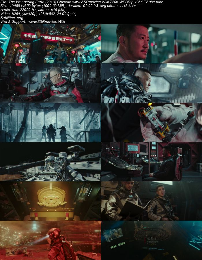 The Wandering Earth (2019) Chinese 480p WEBRip x264 350MB ESubs