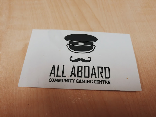 ALL ABOARD COMMUNITY GAMING CENTRE