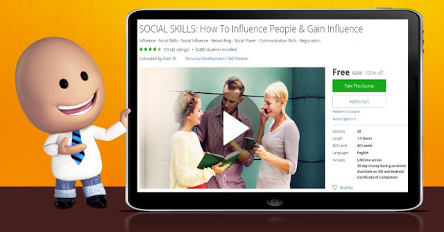 [100% Off] SOCIAL SKILLS: How To Influence People & Gain Influence  Worth 200$
