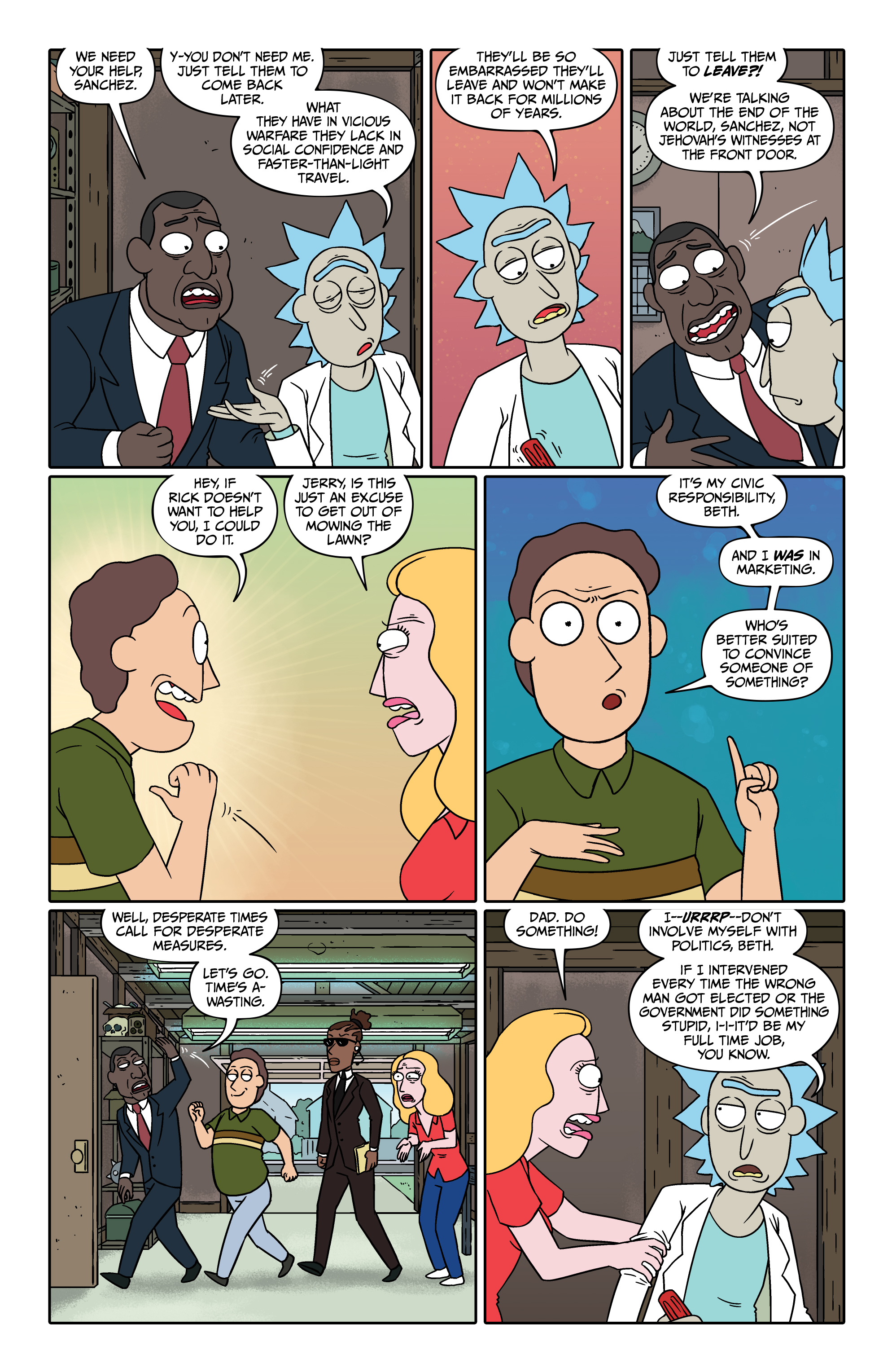Read online Rick and Morty comic -  Issue #26 - 12