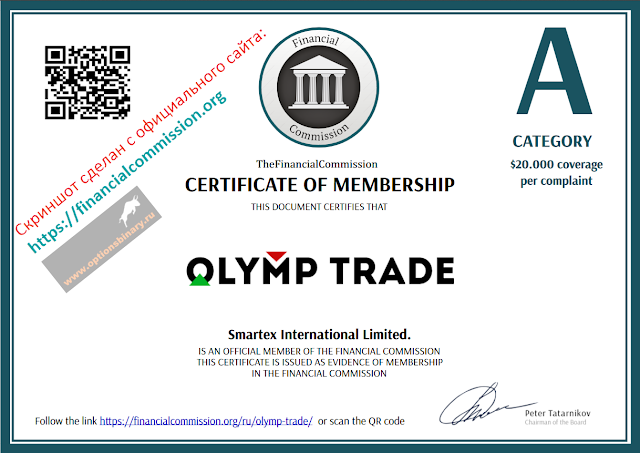Olymp Trade - The Financial Commission