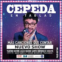 Concierto de Andres Cepeda en CEPEDA EN TABLAS 2019