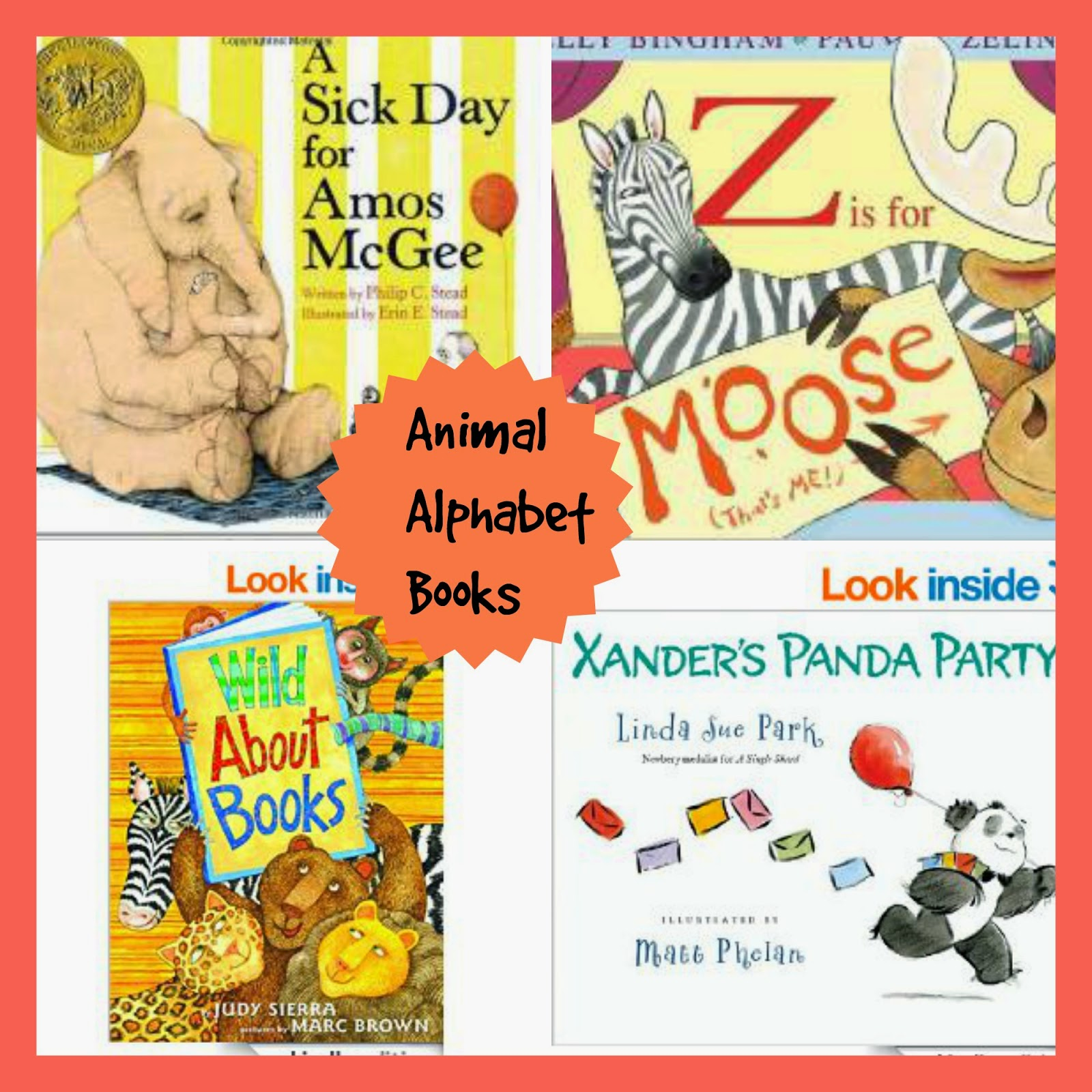 Animal Alphabet Books