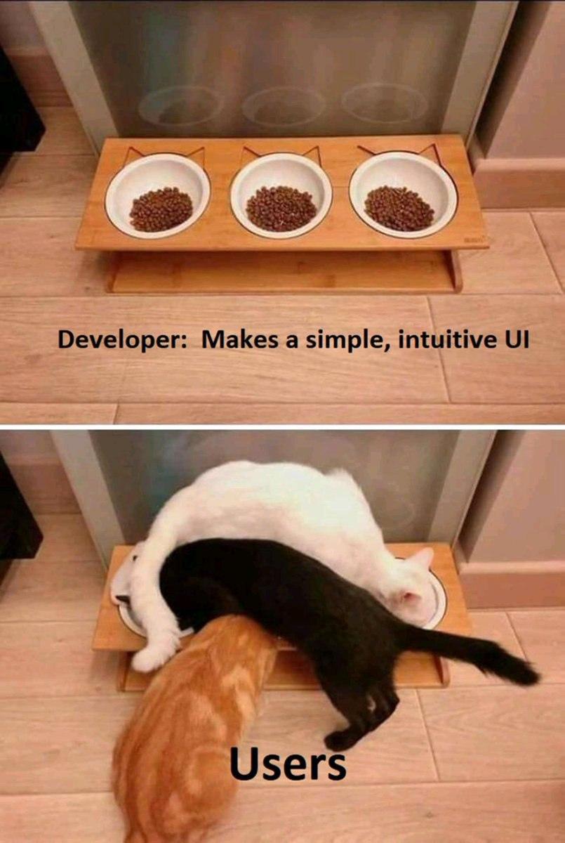 Logic thiết kế và thực tế sử dụng
