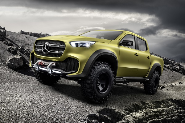 Mercedes Benz Clase X Powerful Adventurer
