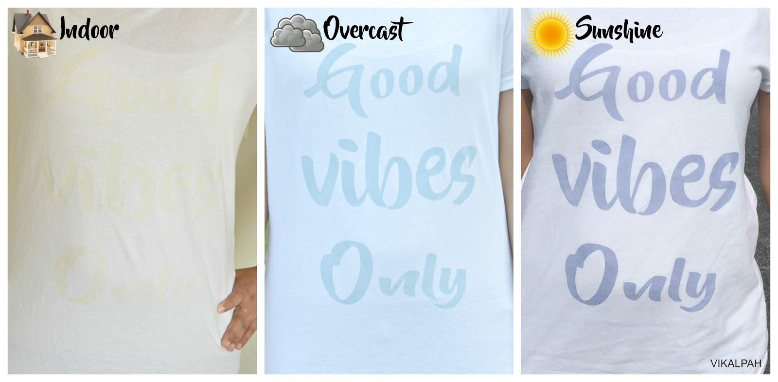 Vikalpah Diy Color Changing T Shirts