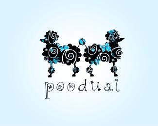 Logotipo inspirado enperros