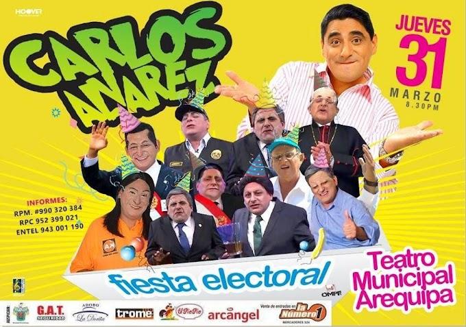 Carlos Alvarez en Arequipa, en la Fiesta Electoral - 31 de marzo