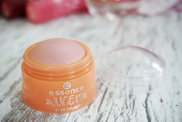 essence juice it limited edition blush ball