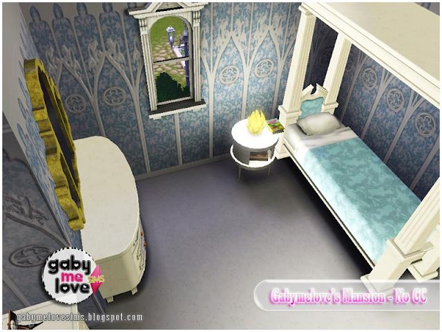 Gabymelove's Mansion |NO CC| ~ Lote Residencial, Sims 3. Habitación para niño.