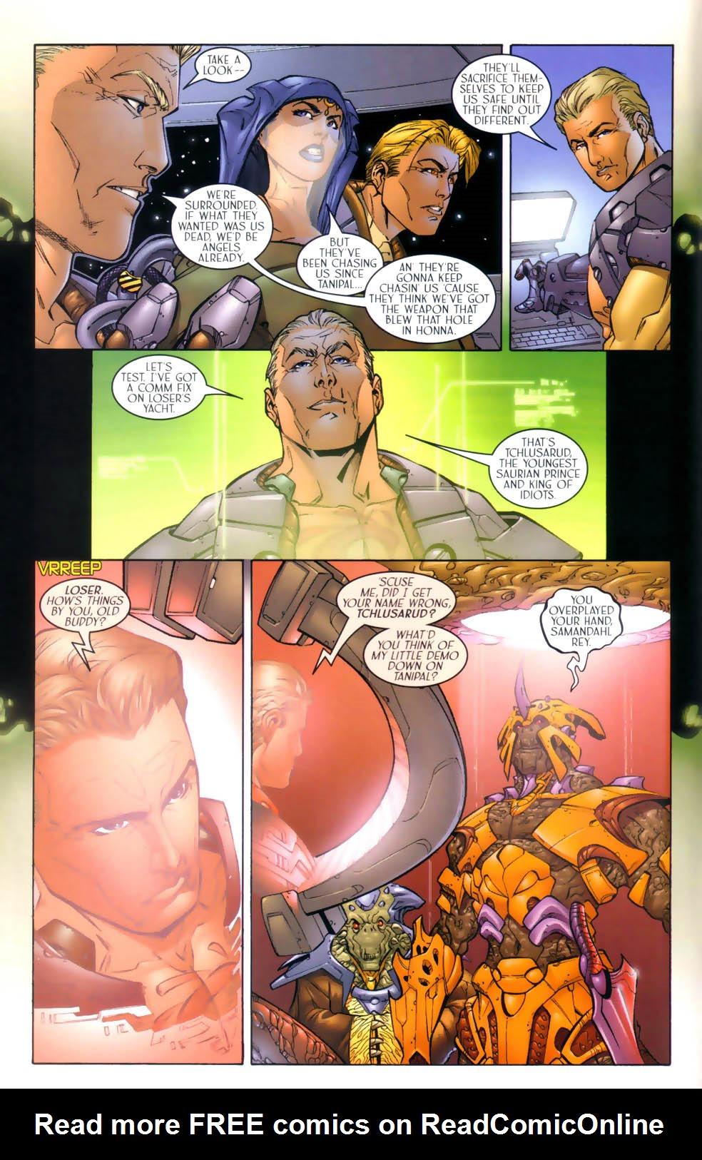 Read online Sigil (2000) comic -  Issue #3 - 5