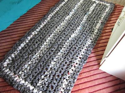 free crochet pattern, plarn, plastic yarn, crochet, recycle