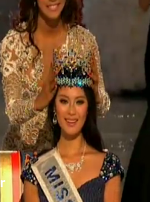 Miss World 2012 winner Wenxia Yu