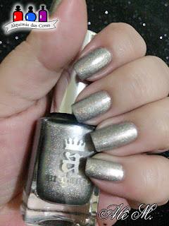 Katyusha, A-England, Russian Soul Collection, Cinza, Grey, Metalico, Holográfico, Alê M.
