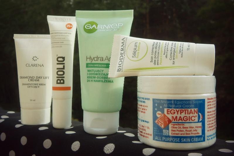 Przegląd kosmetyków - KREMY DO TWARZY