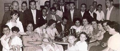 Josep Miquel Ridameya i Tatché en un Torneo de Ajedrez en La Pobla de Lillet