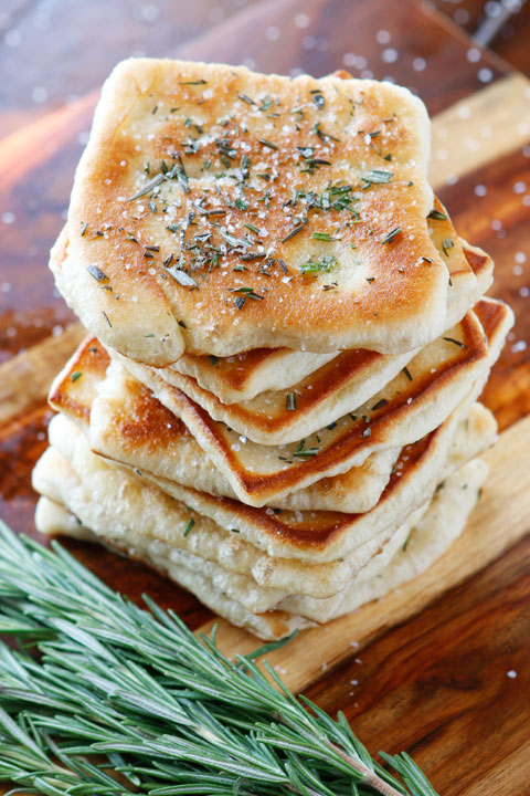 Rosemary Sea Salt Flatbread | Do it yourself ideas and ...