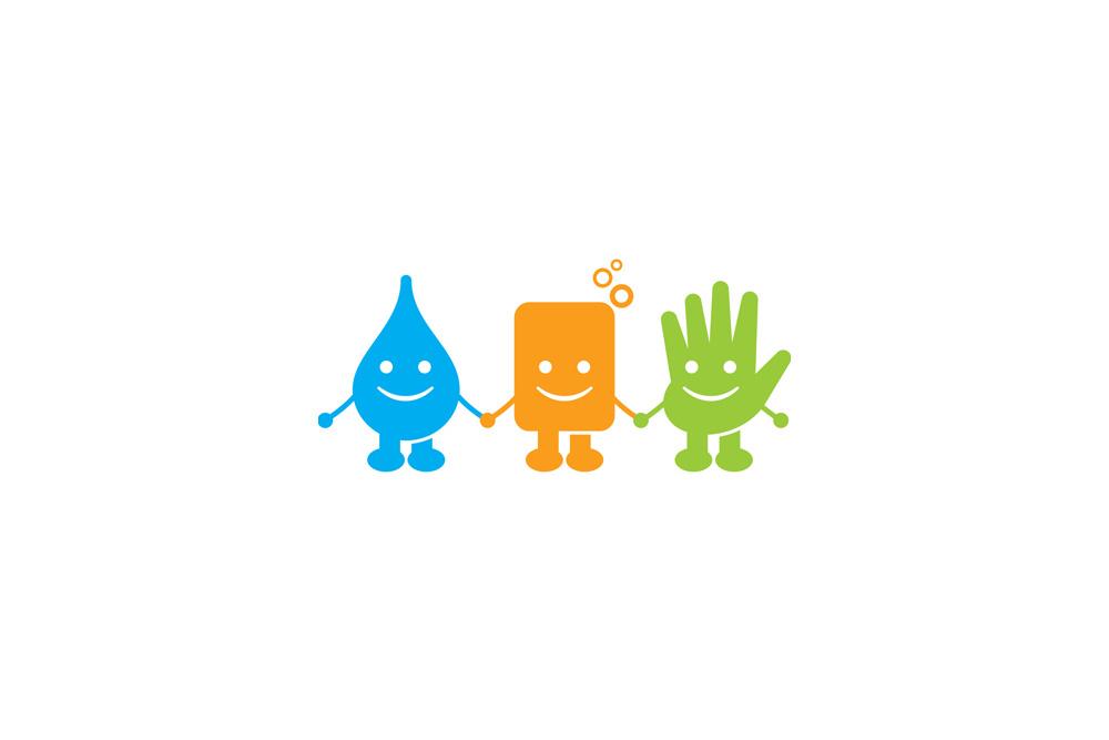 Mycie rąk nie boli