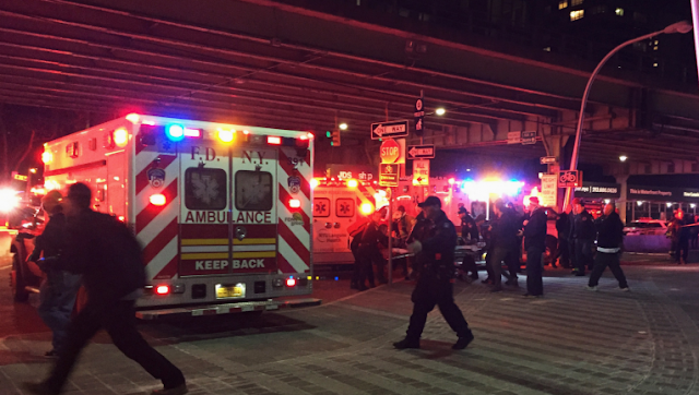 The Latest: 2 killed, 3 critical in NYC helicopter crash (DETAILS)