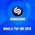 Shazam World Top 100 (Septiembre 2018)