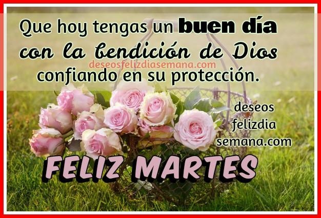 Bonitas frases cristianas del feliz martes para amigos y familia, imágenes lindas con mensajes cristianos y buenos deseos del martes por Mery Bracho