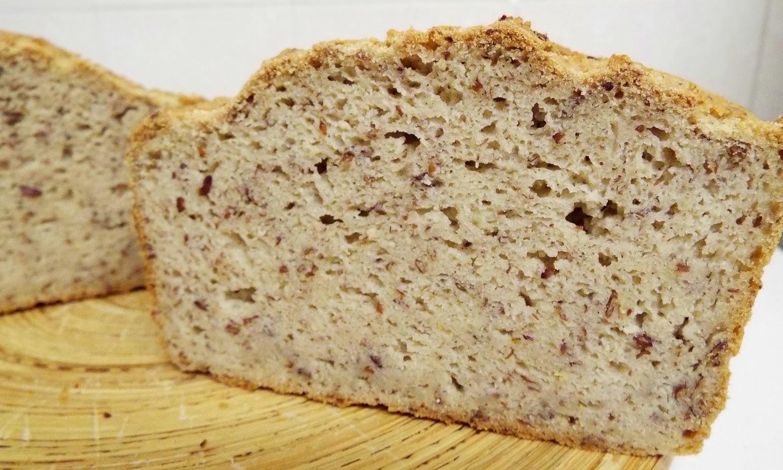 bread, dairy free, gluten free, egg free,