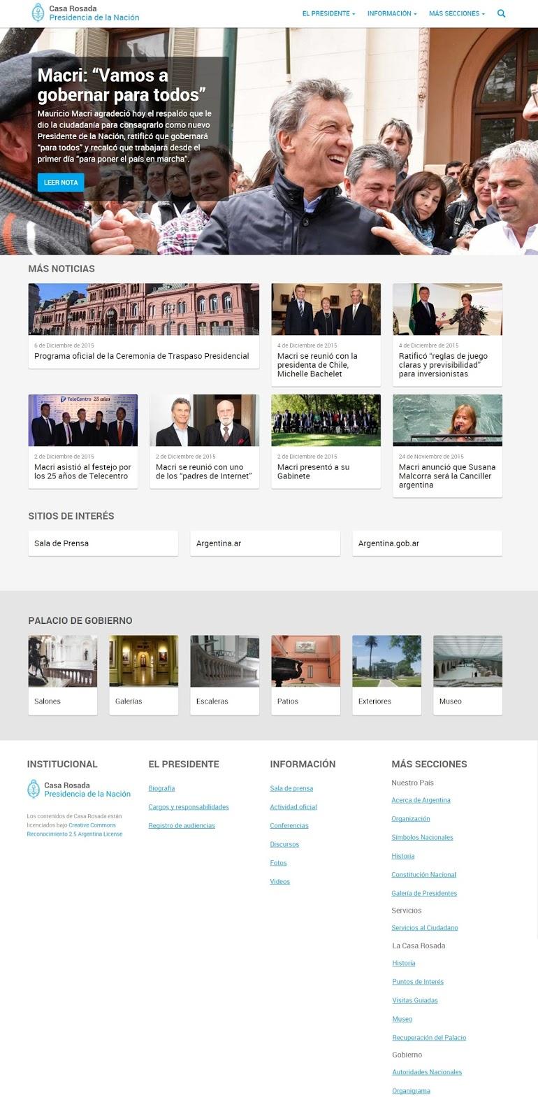 Seales wwwcasarosadagobar comienza una nueva etapa