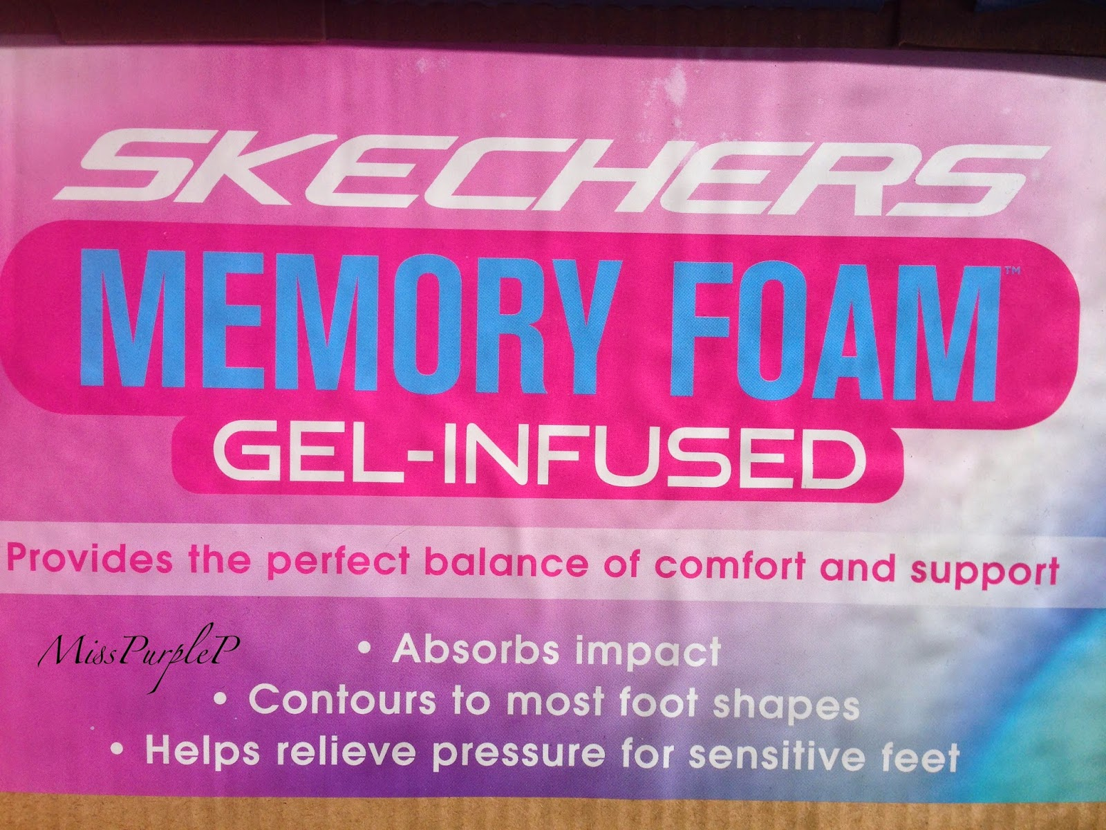 finest selection 17071 435d0 MISSPURPLEP: Skechers Memory Foam   Gel-Infused   Review!