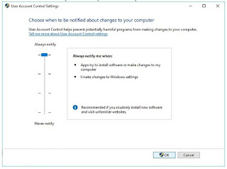 Cara Mengatur User Account Control Windows 10