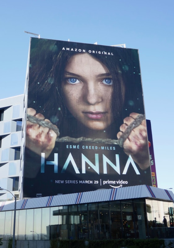 Hanna series launch billboard