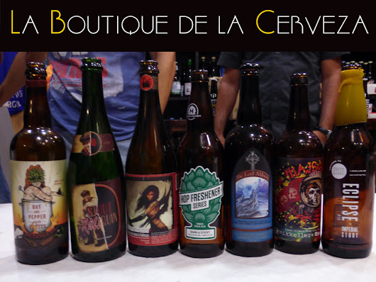 Valencia Beer Week en La Boutique de la Cerveza.