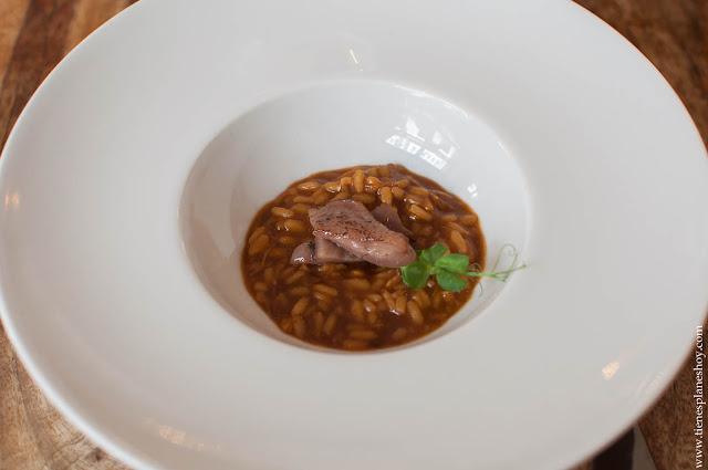 Arroz menu degustación Restaurante Medusa Madrid