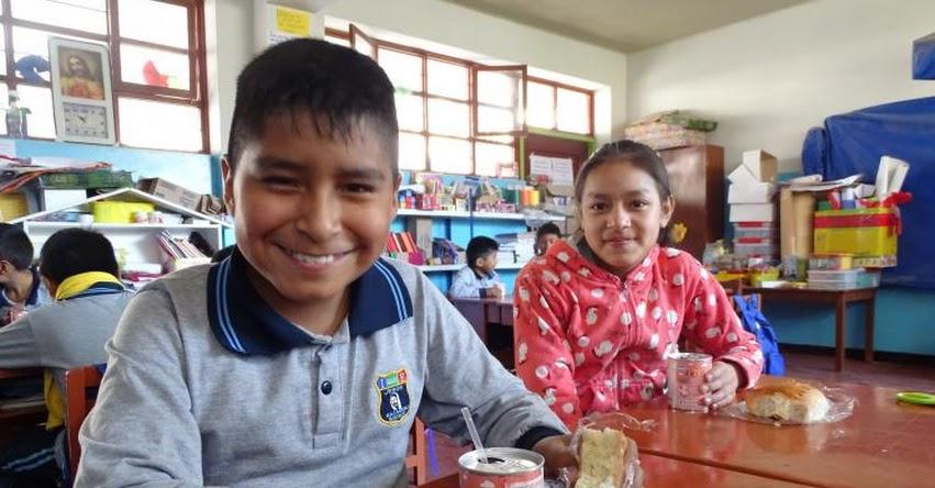 QALI WARMA: Programa social y escuela Jesús El Nazareno promueven buenos hábitos alimenticios en escolares de Moquegua - www.qaliwarma.gob.pe