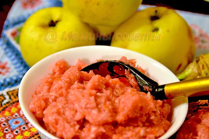 Заготовка из хрена с яблоками - рецепт приготовления